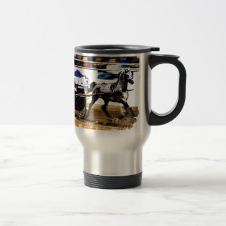 Arabian Harness Horse Travel Mug