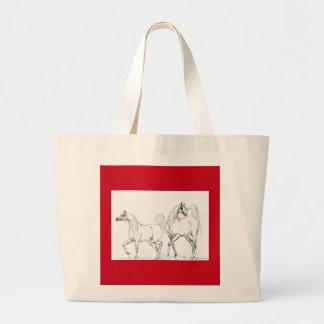 Arabian Horse Tote Bag - Arabian Horses