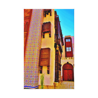 Arabian House Design Canvas Print