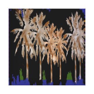 Arabian Nights Abstract Tree Graphic Decoration Canvas Print
