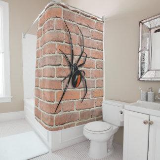Arachnaphobia Shower Curtain