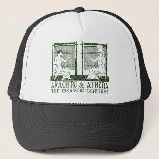 Arachne vs. Athena Trucker Hat