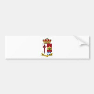 Aranjuez Coat of Arms (Spain) Bumper Sticker