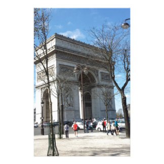Arc de Triomphe, Paris, France Stationery
