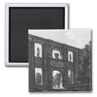 Arch of Gaillon, Musee des Monuments Francais Square Magnet