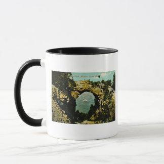 Arch Rock Mackinac Island, Michigan 1911 Mug