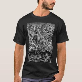 Archangel Michael Battles Satan - Albrecht Durer T-Shirt