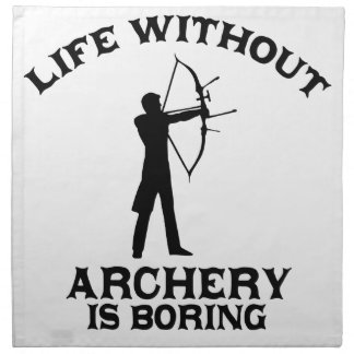 Archery DESIGNS Napkin