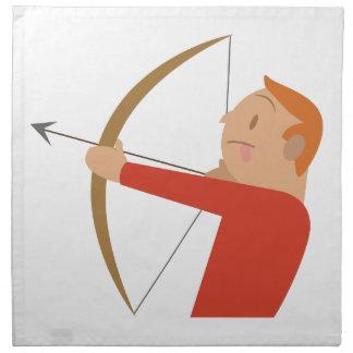 Archery Napkin