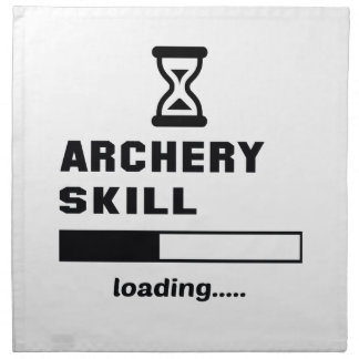 Archery skill Loading...... Napkin