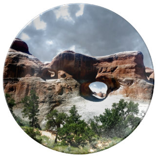 Arches National Park South window from the Back Plate