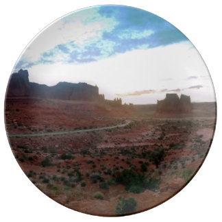 Arches National Park Viewpoint Plate