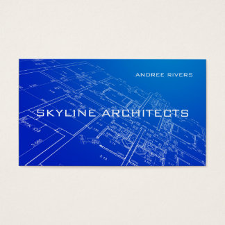 Architect, Builder, General Contractor Business Business Card