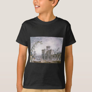 Architectural Fantasy by Hubert Robert T-Shirt