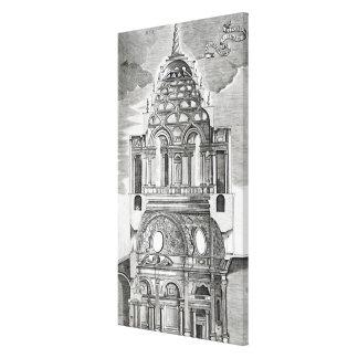 Architectural Illustration Canvas Print