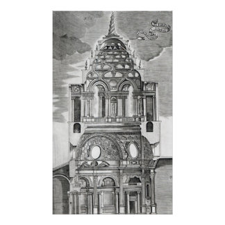 Architectural Illustration Poster