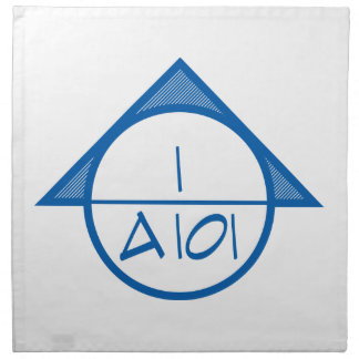 Architectural Reference Symbol Napkins (blue)