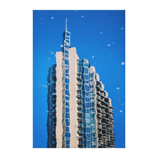 Architecture Abstraction Canvas Print