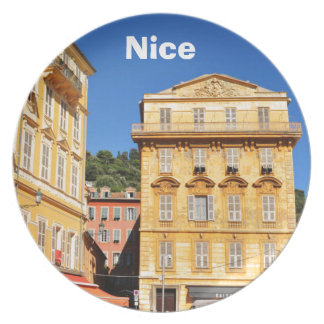 Architecture in Nice, France Plate