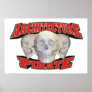 Architecture Pirate Print
