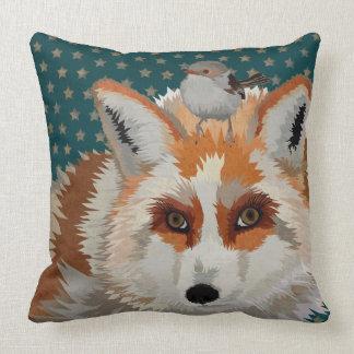 ARCTIC FOX & WREN STAR Pillow