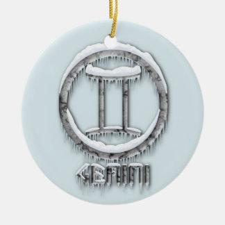 Arctic Gemini Christmas Ornament