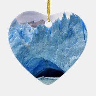 Arctic Glacier Naturescape Ice Christmas Ornament