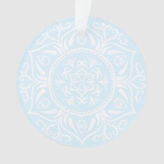 Arctic Mandala Ornament