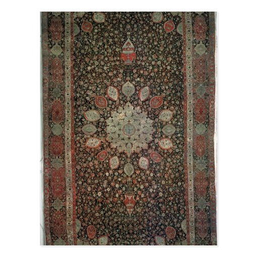 Ardabil carpet made for the mosque at Ardabil Post Cards