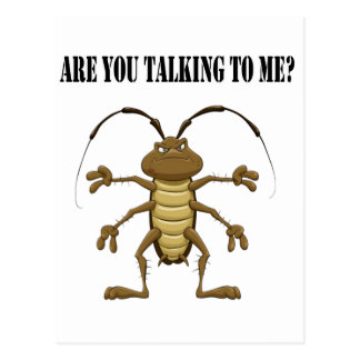 Are you talking to me postcard