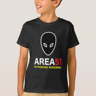 Area 51 Authorized Personnel T-Shirt