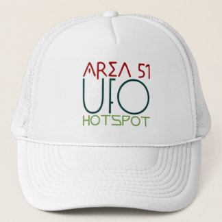 Area 51, UFO, hotspot Trucker Hat