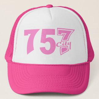 Area Code 757city - Pink Trucker Hat