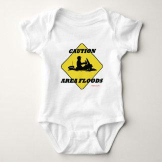 Area Floods Quickly Baby Bodysuit