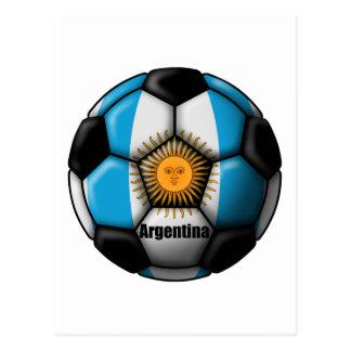 Argentina Ball Postcard