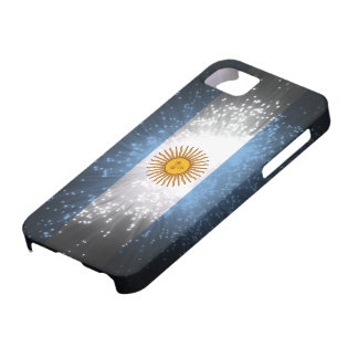 Argentina Flag Firework Case For The iPhone 5