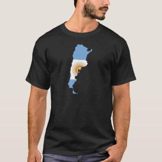 Argentina Flag map AR T-Shirt
