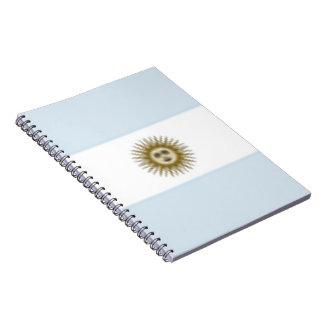 Argentina Flag Notebooks
