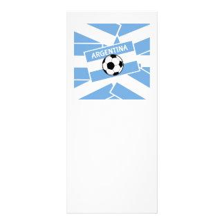 Argentina Football Custom Rack Cards