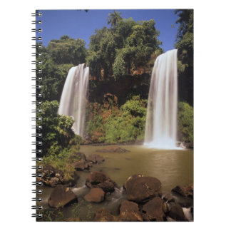 Argentina, Igwazu, Igwazu falls. Salto Dos Spiral Notebook