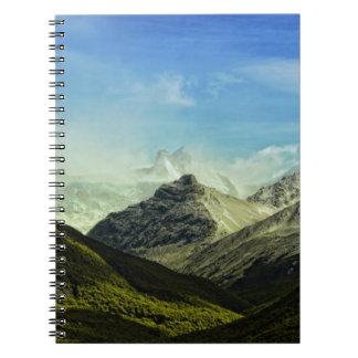 Argentina Parque Naciolnal Los Glaciares Notebook