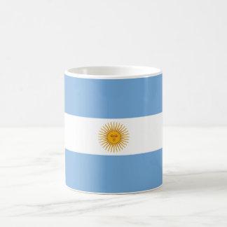 Argentina Plain Flag Basic White Mug