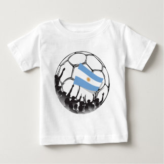 Argentina Soccer or Football Fans Baby T-Shirt
