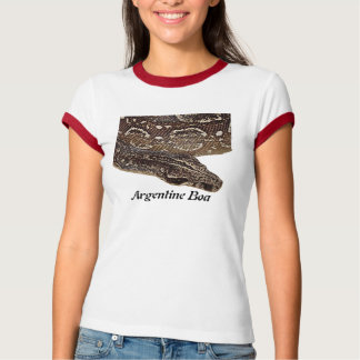 Argentine Boa Ladies Ringer T-Shirt