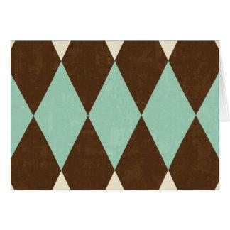 Argyle Card