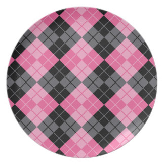 Argyle Design Plates