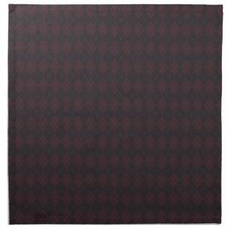 Argyle Style Pattern Napkins