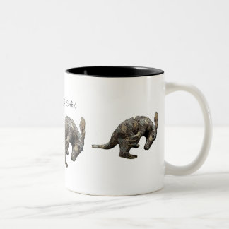 ArgyleAardvark2, ArgyleAardvark2, ArgyleAardvar... Two-Tone Coffee Mug