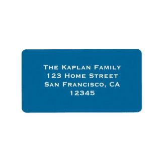 Ari Yonatan Blue Envelope Seal Label