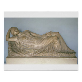 Ariadne Asleep, Hellenistic from Alexandria, 2nd c Poster